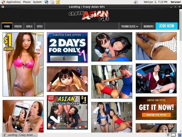 Crazy Asian GFs 암호