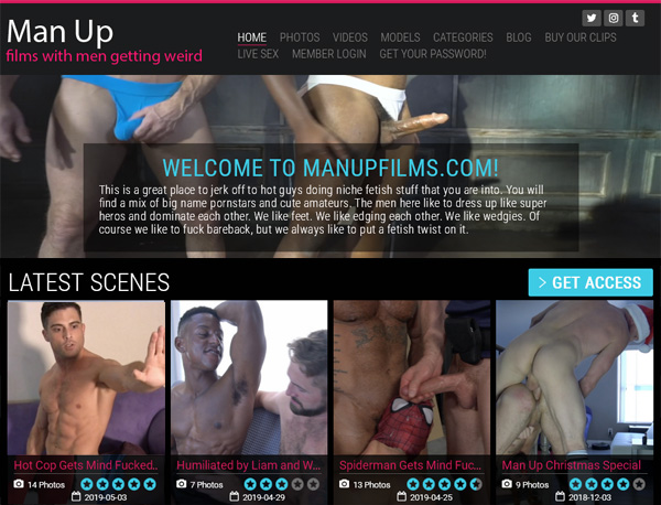 Man Up Films Free Trial Access